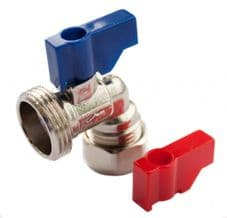 """Oracstar Angled Valve (Hot/Cold) - 15mm x 3/4"""" BSP"""